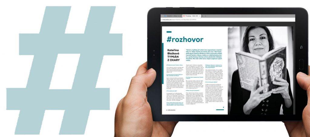 Nové číslo časopisu #mojeargo o českých autorech je tu